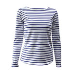 Asherangel striped ls shirt blue
