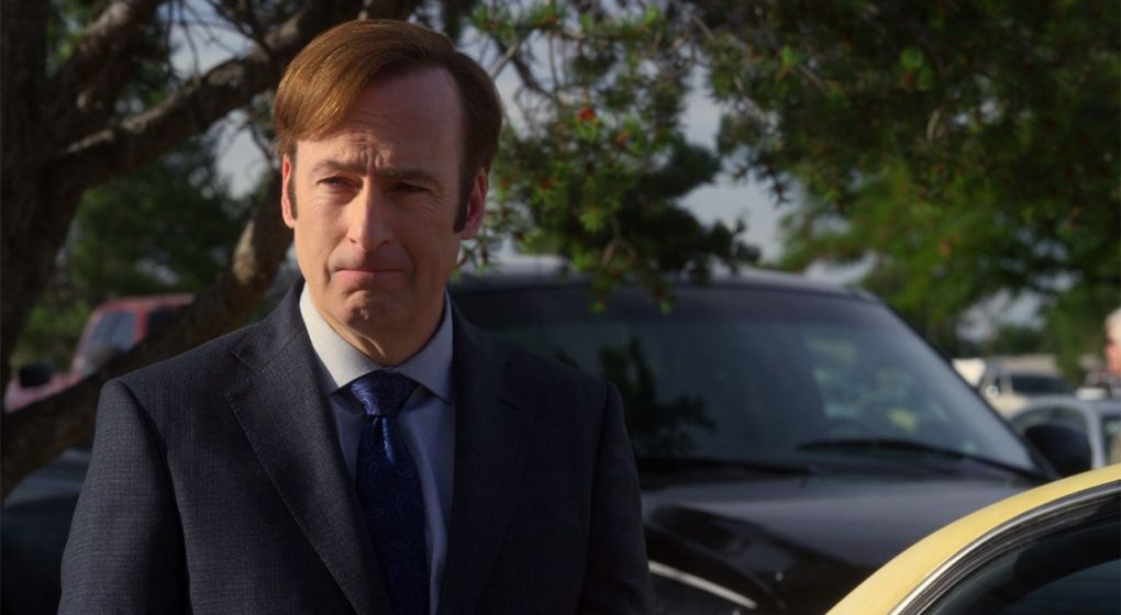 Better Call Saul Jimmy McGill gray suit