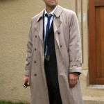 Castiel full length trench coat