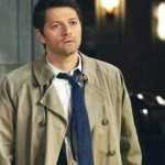Castiel solid dark blue tie