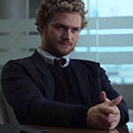 Danny Rand black sweater vest