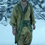 Danny Rand yellow monk robes