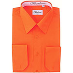 Dress shirt orange