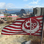 Fallout 4 Brotherhood of Steel flag
