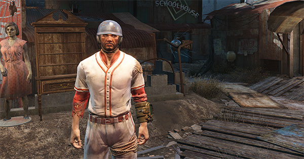 Fallout 4 Sole Survivor baseball uniform