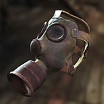 Fallout 4 Sole Survivor gas mask