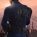 Fallout 4 Sole Survivor Vault 111 jumpsuit