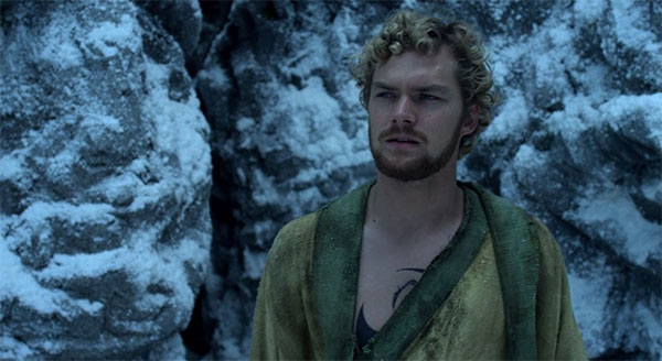 Netflix Marvel Iron Fist Danny Rand monk robes