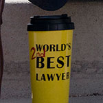 Jimmy McGill Worlds 2nd Best Lawyer coffee cup