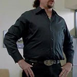 Kenny Powers black dress shirt