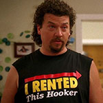 Kenny Powers I Rented This Hooker shirt