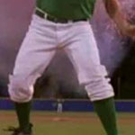 Kenny Powers white baseball uniform pants