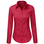 LA Basic dress shirt hotpink