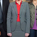 Leslie Knope gray suit jacket