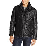 Marc New York Andrew Marc Mercer smooth lamb leather jacket