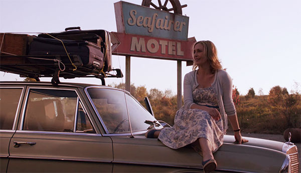 Norma Bates Bates Motel s1e1 floral dress