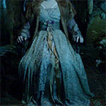 Norma Bates corpse gown