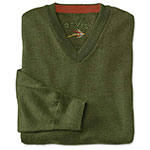 Orvis Merino wool vneck sweater