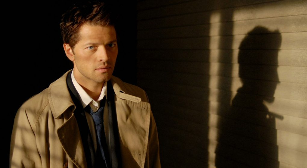 Supernatural Castiel suit trench coat