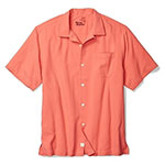 Tommy Bahama catalina twill silk shirt orange ochre