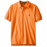 US Polo Assn polo style shirt canoe orange