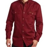 Carhartt long sleeve work shirt