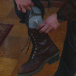 Dean Winchester logger boots