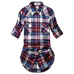Match Womens flannel shirt