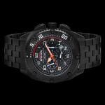 MTM Black Patriot wrist watch