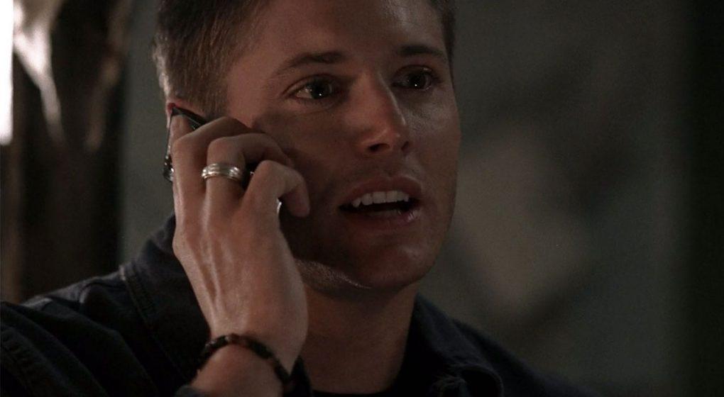 Supernatural Dean Winchester silver ring skull bracelet