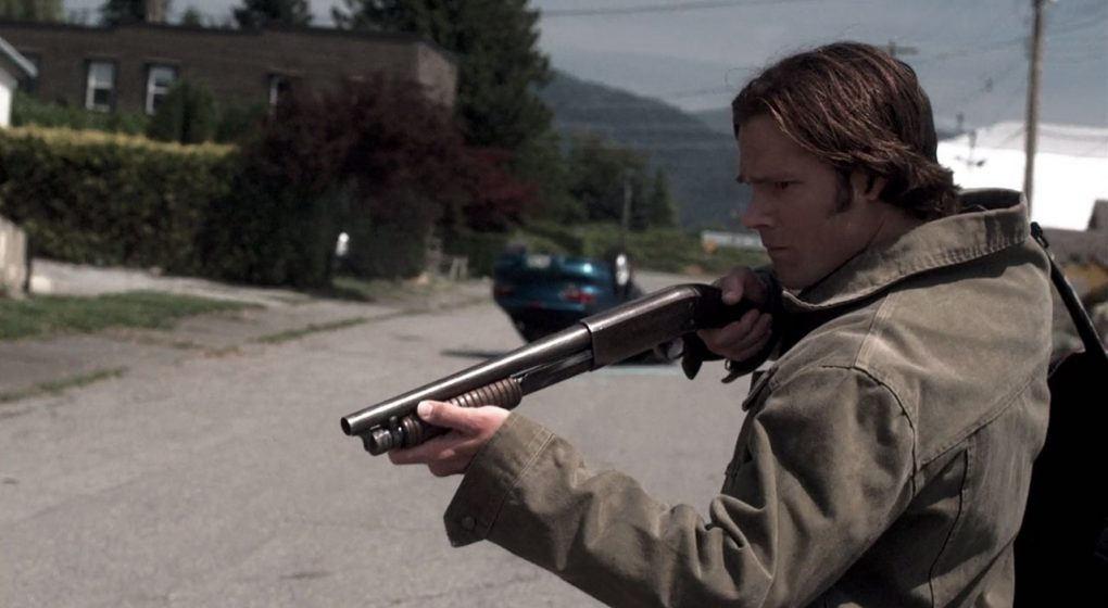 Supernatural Sam Winchester sawed off pump action shotgun Ithaca37