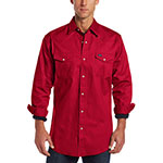 Wrangler red work shirt