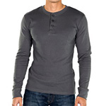 Noble Mount henley charcoal