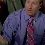 Saul Goodman blue dress shirt
