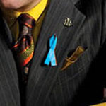 Saul Goodman blue ribbon pin