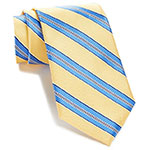 Tommy Hilfiger striped neck tie yellow