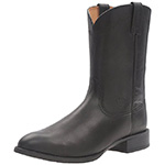 Ariat Heritage roper western cowboy boots black
