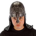 Knight costume helmet