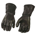 Milwaukee Leather deerskin leather thermal gauntlet gloves